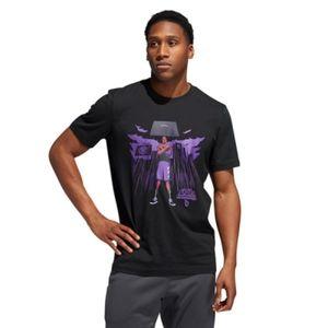 Adidas Marvel Dame Black Panther Tee Size XL